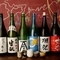 種類豊富な日本酒メニュー、料理とのマリアージュを堪能