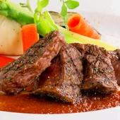 国内最高峰のお肉や無添加野菜をコースでゆっくりと味わう