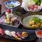 絶品の寿司と割烹料理が一度に楽しめる『ディナーコース「麗」』