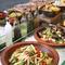 地元・福岡エリアの新鮮な野菜やシーフード