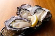 クリーミーで上質な海の幸を堪能『厳選生牡蠣』