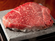 口に入れた瞬間広がる旨みと甘み『牛ヒレ肉のステーキ』