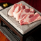 豚肉本来の味わいを存分に満喫『岩中豚の溶岩焼き』