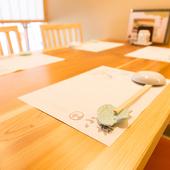家族やグループで過ごしやすいテーブル席
