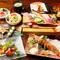 手間暇かけた、美味しい「串&寿司」をたっぷりと