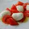 「モッツァレラ」そのものの味わいを満喫できる『水牛モッツァレラとトマト』