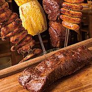 リピーター続出の美味しさ! シュラスコ食べ放題『ブラジルコース』3時間飲み放題全8品