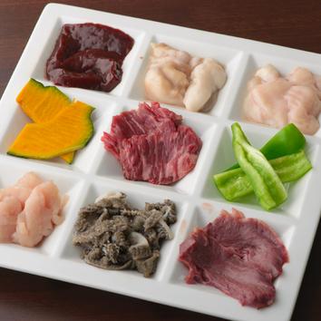 肉乃彩りコース 2500円