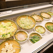 地産地消を意識した『北海道産の新鮮野菜コーナー』