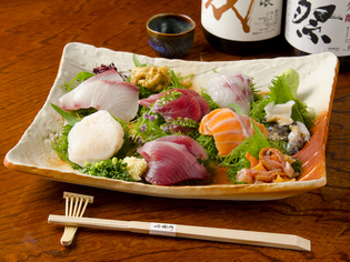 全国の旬魚介を満喫できる! 最高の酒の肴『お刺身盛り合わせ』