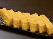 「南部鶏」の卵と出汁の優しい味わいが特徴的な『南部鶏の卵を使っただし巻玉子』
