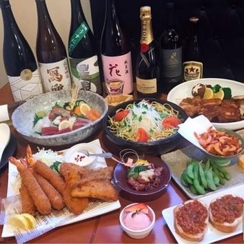【90分飲み放題付】ROBATA とんぼ 海鮮寄せ鍋コース