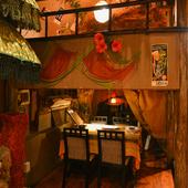 美味しい料理と寛ぎの空間で、二人の時間をゆっくりと