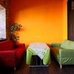 ソファー席は女子会や少人数のパーティーに人気
