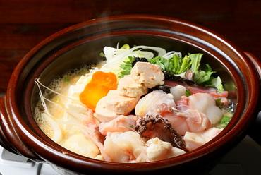 地元大洗の郷土料理『あんこう鍋』
