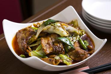 ご飯にぴったり、甘辛こってりの『回鍋肉』