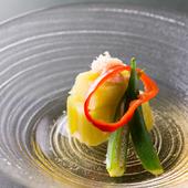 生姜がアクセントのさっぱり『茄子翡翠煮』