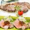 『国産牛のローストビーフ』&『国産牛のサーロインステーキ』
