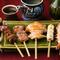 【いな村】人気の串焼きが一皿で堪能できる