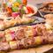 和洋折衷豊富なジャンルの料理を提供!大胆な串焼きスタイル☆