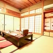 広々とした上質な個室席をご用意しております。