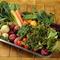 地元の契約農家から仕入れる旬の野菜で上質の味を地域に提供