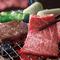 贅沢に焼肉コースを堪能できる!国産牛、黒毛和牛肉を堪能下さい(^^)/肉ケーキで演出。飲み放題90分付