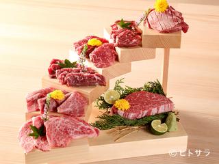 自慢の「洗いダレ」で楽しむお肉