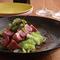 京都 七谷鴨 炭火焼 季節野菜のソース