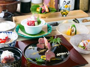 和食とお肉の融合がコンセプト『料理長おまかせ懐石<肉懐石 墨>』