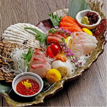 当店人気のうにく寿司♪『和心コース』月-木3H ¥4,500⇒¥4,000