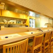 個室を完備、新鮮な魚介が満喫できるコースで大切な宴席を