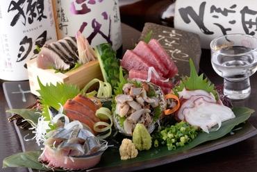 毎日変わる新鮮な旬魚をいただく『ぶぶすけ盛り(3~4人前)』