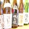 焼き鳥と相性抜群。珍しい日本酒の数々が精彩を放つ