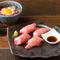 自家製のバルサミコ酢が肉の甘みとマッチ『神の肉寿司』