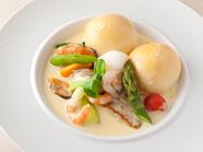 『本日の魚料理』※食材は季節に応じて変更