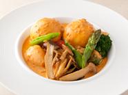 『本日の野菜料理』※食材は季節に応じて変更