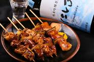 北海道室蘭市の豚肉とタマネギを使用した串焼き料理『室蘭やきとり』