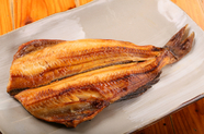 大きくジューシーで味の濃い格別の味わい。北海道産の『ほっけ開き』
