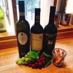 イタリア産ワイン3種飲み比べセット(税別1000)