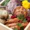 あふれんばかりの旬の海鮮や野菜を詰め込んだ『海鮮蒸籠蒸』