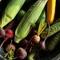 彩りも良くハリのある、旬の「野菜」を主につかった逸品