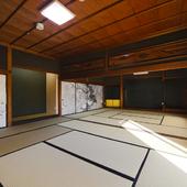 凛とした空気が流れる趣きのある和室は、様々なシーンに