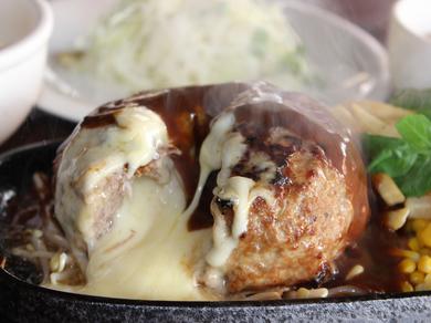 ココが元祖!『チーズオーブン焼きハンバーグ』