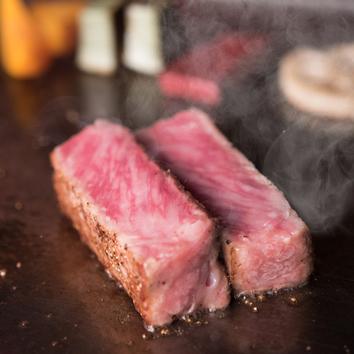 【ヒトサラ限定】アワビとA5ランクのステーキのコース