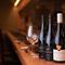ペアリングも無限に楽しめる、約40種類を有するワイン