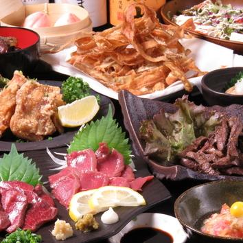 (1)こまち宴会コース 厳選9品 飲み放題付3500円コース