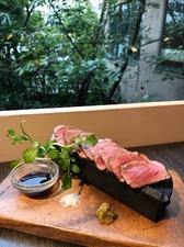 宮崎県産和牛のカルパッチョ