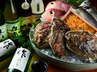 鮮魚専門の母体が直接買い付けている、天然魚・旬魚