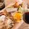 地元茅ヶ崎の食材を使った料理が堪能できる。